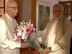 PM Narendra Modi Greets LK Advani On Birthday, Describes Him As Inspiration