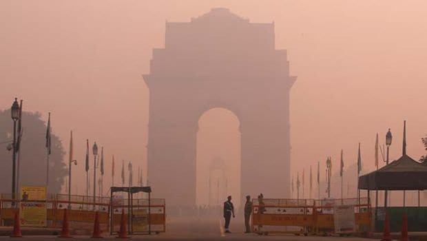 Delhi's Air Quality Enters Red Zone Again
