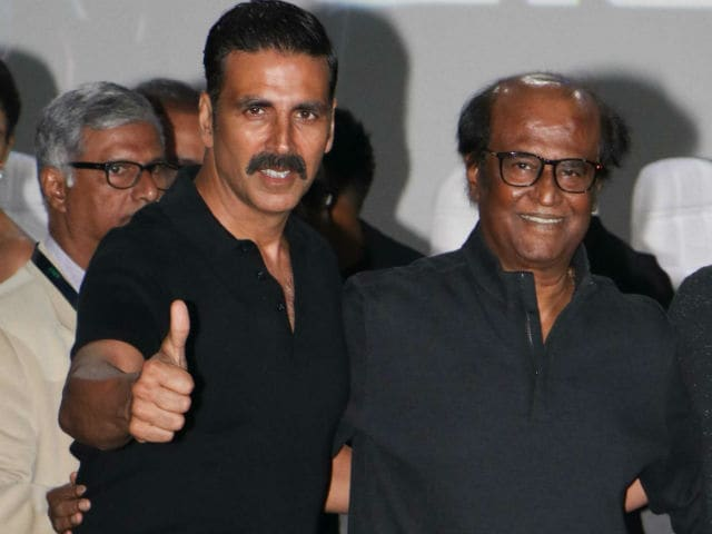 Rajinikanth, Akshay Kumar's Mutual Admiration: Meet 2.0's Real Hero
