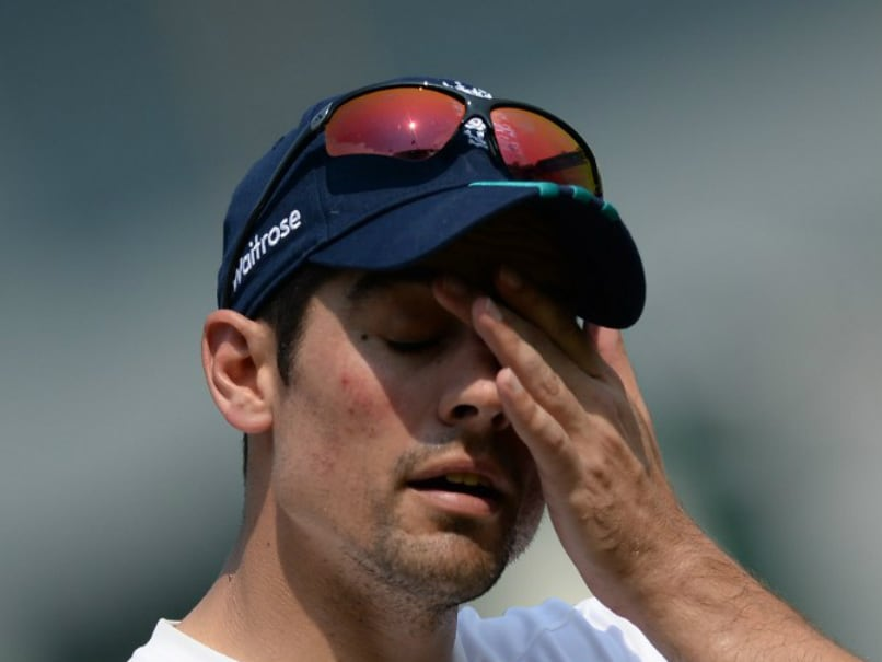 India vs England: We Are Underdogs, Admits Alastair Cook