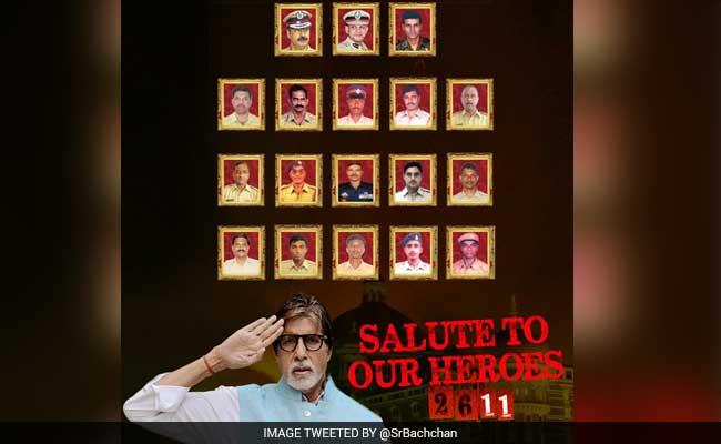 बॉलीवुड सितारों ने 26/11 के जांबाजों को किया सलाम, अमिताभ ने कहा- उन्हें याद करने का दिन