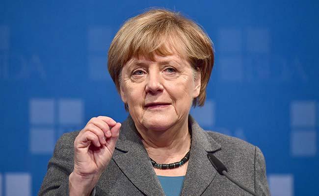 German Chancellor Angela Merkel Calls For A Burqa Ban