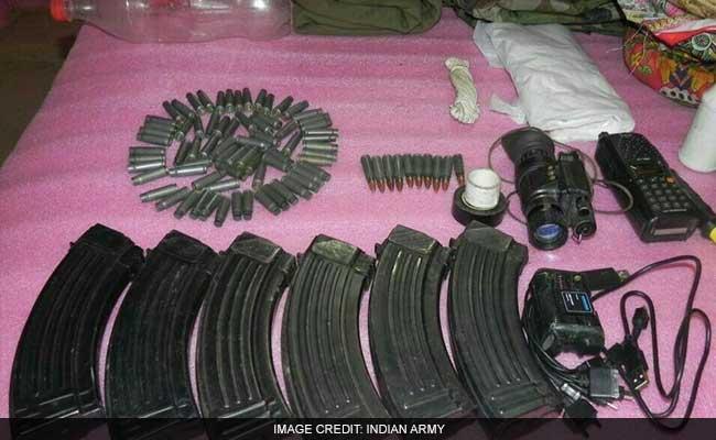 पंजाब में पाकिस्तान से लगी सीमा पर हथियार और गोला-बारूद का बड़ा जखीरा बरामद