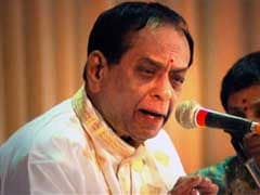 Congress Lawmaker Demands Bharat Ratna For Late Singer Balamuralikrishna