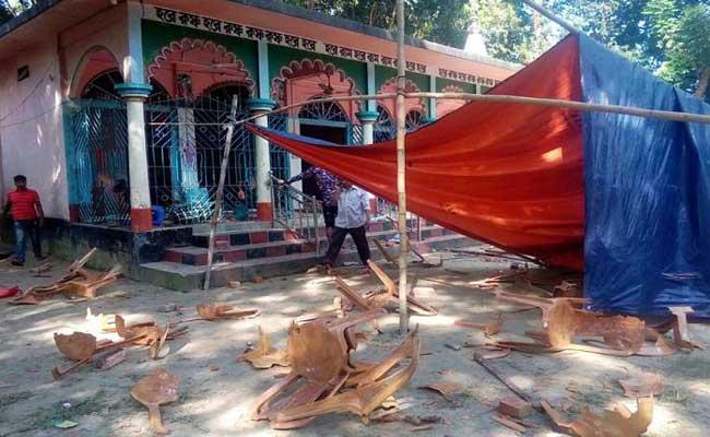 15 Temples Vandalised In Bangladesh Over Facebook Post