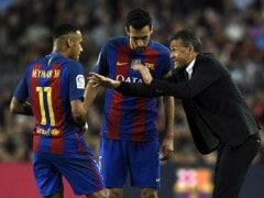 La Liga: Lionel Messi-Less Barcelona Fire Blank Against Nine-Man Malaga