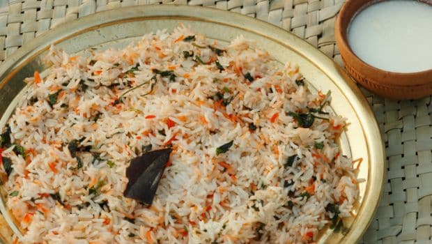10 Most Popular South Indian Rice Dishes- bay leaf rice