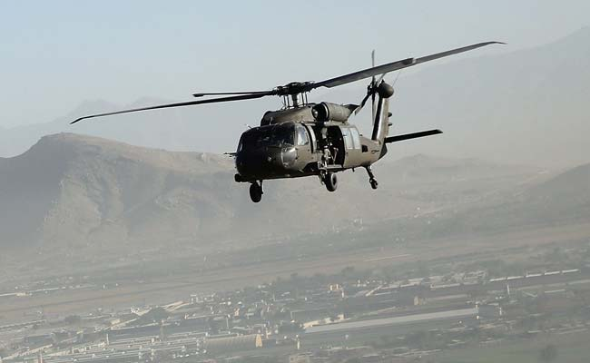 Afghan Air Force Receives First Black Hawk Helicopters