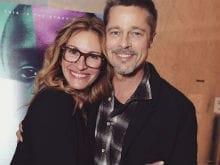 Brad Pitt Makes First Public Appearance After Split For <i>Moonlight</i>