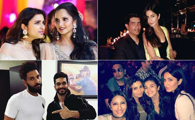 Sania-Parineeti And Other Celeb-BFFs Winning Instagram With Their Pics