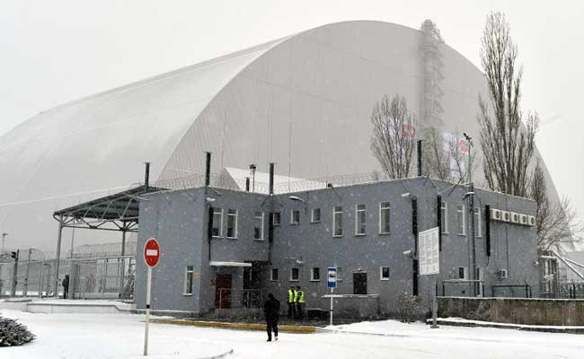 Ukraine Moves Giant New Safety Dome Over Chernobyl Nuclear Plant
