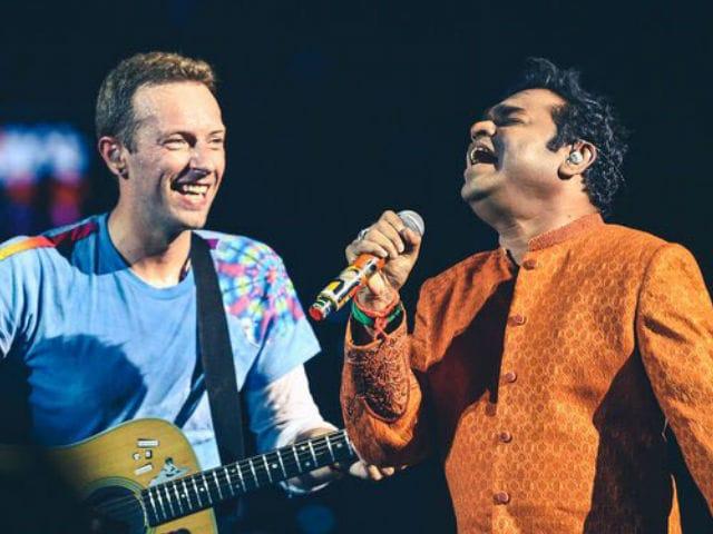 Thanks Chris Martin, Says A R Rahman After They Sang Maa Tujhe Salaam