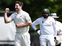 NZvsPak टेस्ट : पाकिस्तान 133 पर ढेर, न्यूजीलैंड के लिए पहला टेस्ट खेल रहे दो खिलाड़ियों ने किया कमाल