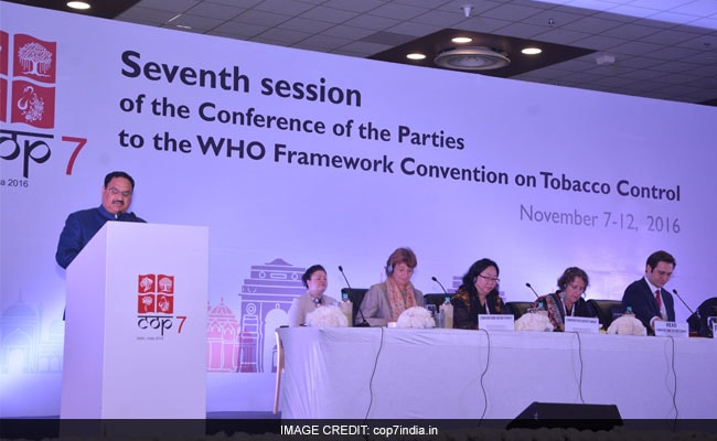 Hotels For COP7 Guests Declared 'Tobacco-Free' By Delhi Government
