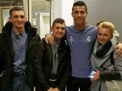 Cristiano Ronaldo Meets Polish Boy He Helped Raise From Coma