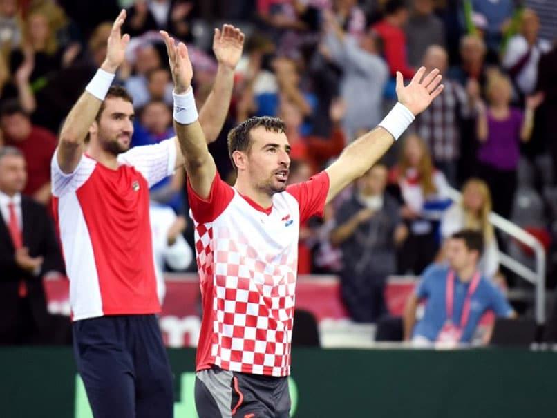 Davis Cup Final: Croatia Win Doubles Tie to Take 2-1 Lead vs Argentina