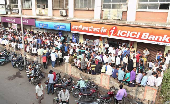 Banks Still Grapple With Huge Rush, Most ATMs Run Dry