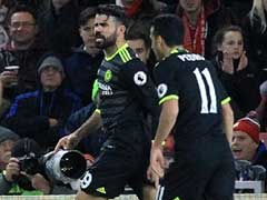 Diego Costa Sends Chelsea to Top of Premier League