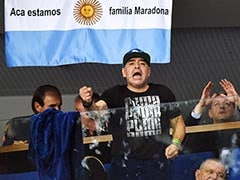 Diego Maradona Sees Argentina Level Davis Cup Final vs Croatia
