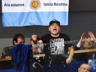 Diego Maradona Sees Argentina Level Davis Cup Final vs Croatia