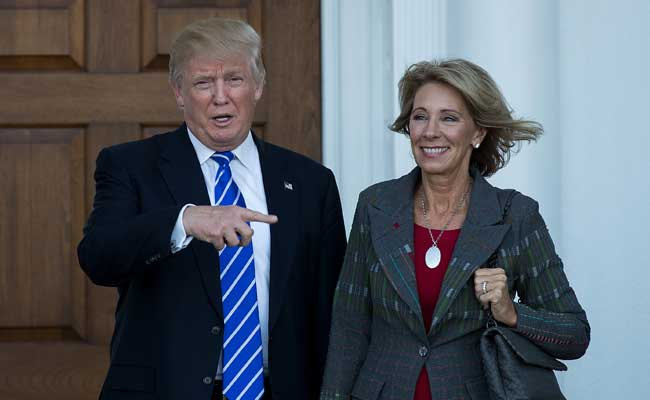 Trump Panel Recommends Guns In Schools To Keep US Students Safe
