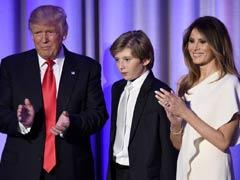 मेलानिया ट्रम्प, बेटे बैरन का तत्काल व्हाइट हाउस में रहने का इरादा नहीं