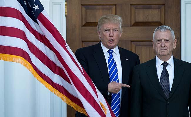 US Defence Secretary James Mattis To Keep His Job, Says Donald Trump