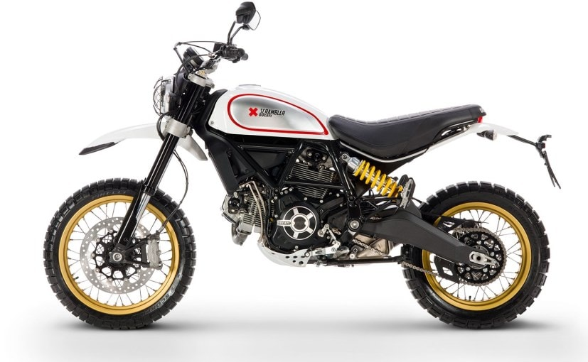 Ducati Scrambler Desert Sled Side Profile