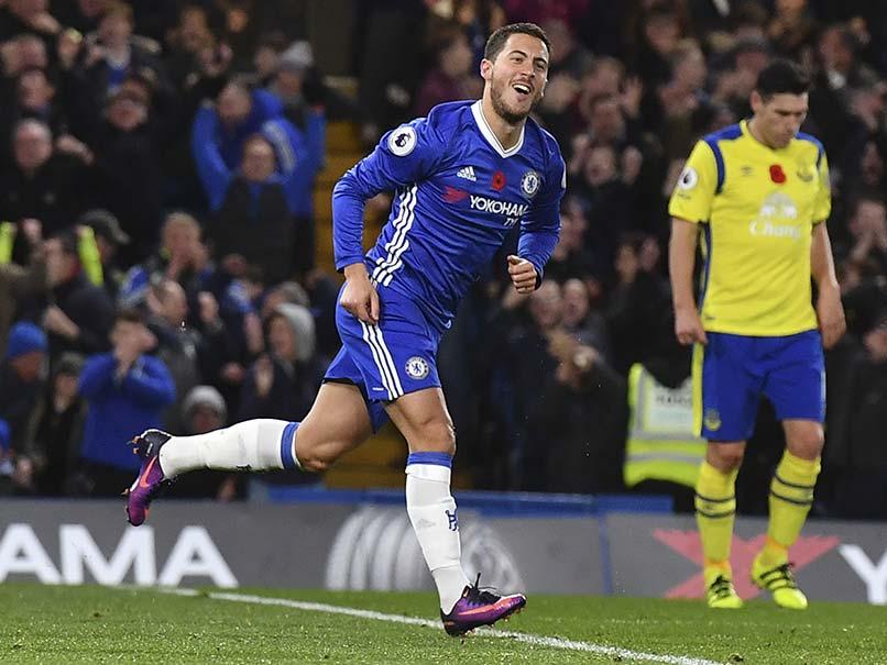 Eden Hazard Shreds Everton to Fire Chelsea Top