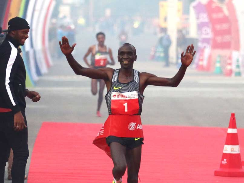 One Can Run Even in Pollution: Eliud Kipchoge, Delhi Half Marathon Winner