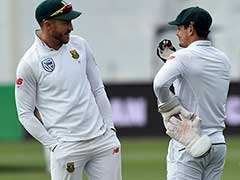 South Africa's Faf Du Plessis Charged With Ball Tampering