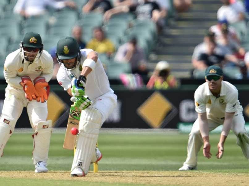 3rd Test: Faf du Plessis Ton Puts South Africa in Charge vs Australia