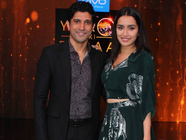 This is What Shraddha Kapoor Likes About Rock On 2 Co-Star Farhan Akhtar
