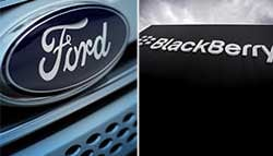 BlackBerry Signs Software Deal With Ford, Likely To Aid Development Of Autonomous Technology