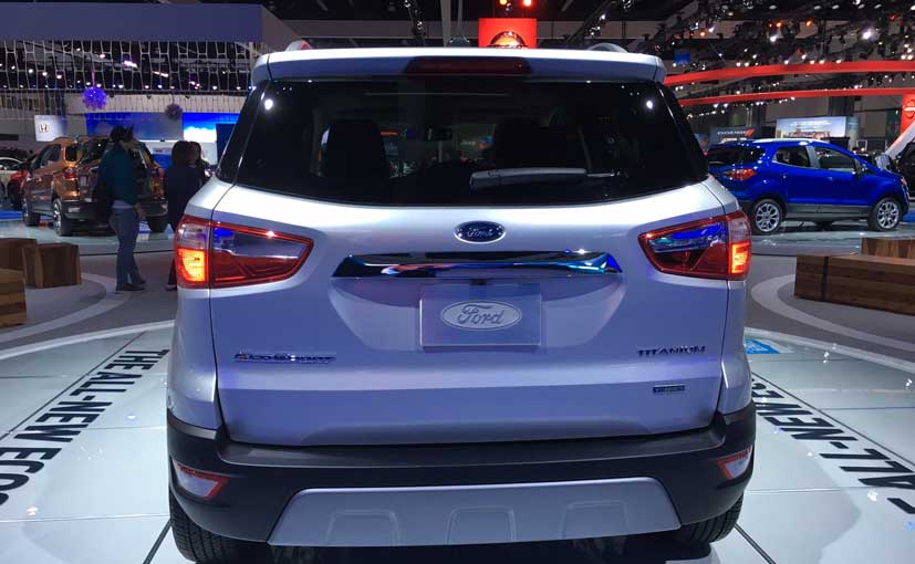 Ford EcoSport Facelift Rear
