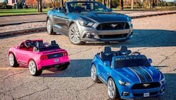 This Ford Mustang For Kids Has More Safety Features Than Your Car