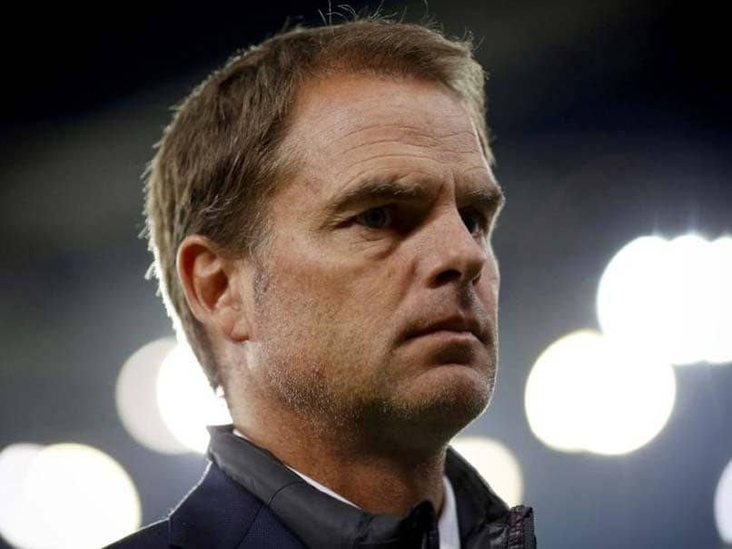 Inter Milan Sack Manager Frank de Boer After Just 11 League Games