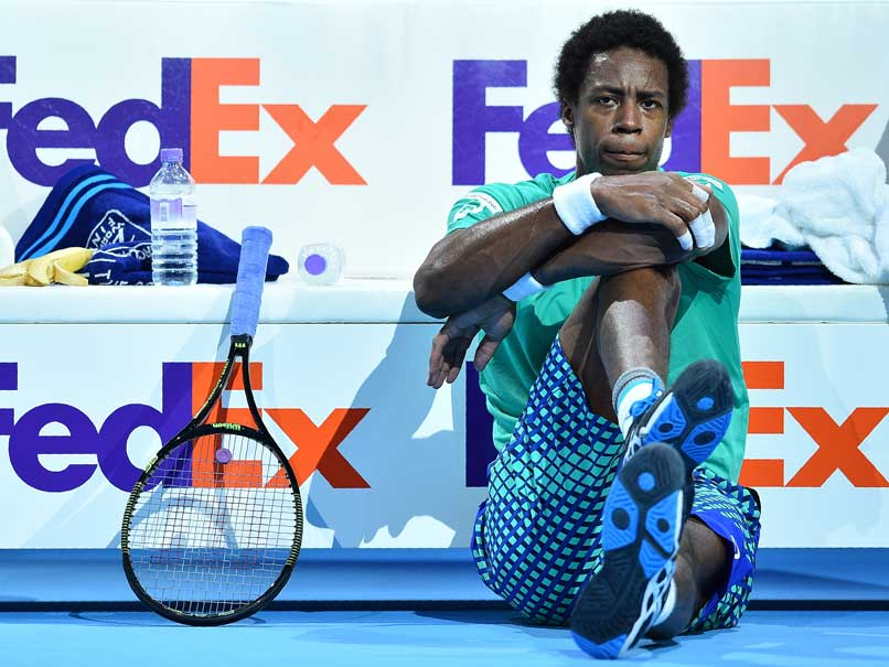 Injured Gael Monfils Pulls Out of ATP World Tour Finals
