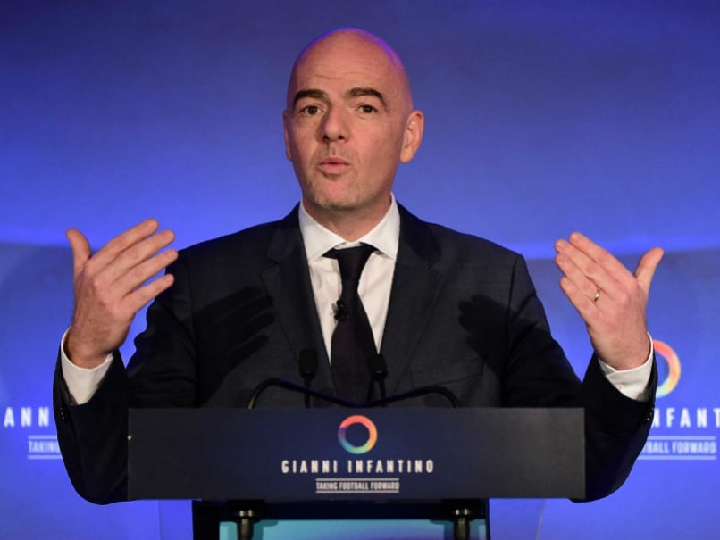FIFA Boss Gianni Infantino Wants Video Referees at 2018 World Cup