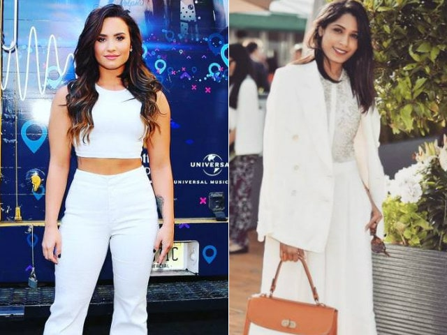 Demi Lovato, Freida Pinto Join Global Citizen Concert's Celeb Line Up