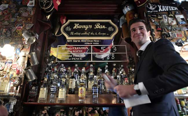 In Paris, 'Almost' Foolproof Harry's Bar Votes Hillary Clinton