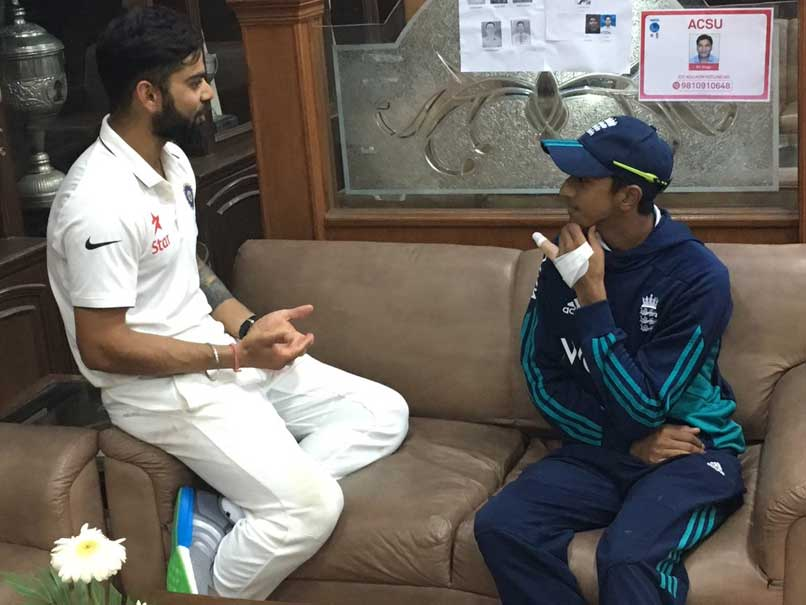 Haseeb Hameed Opens Up About Meeting Virat Kohli After Mohali Test