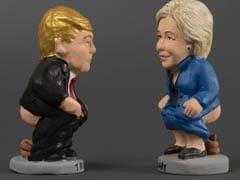 Hillary Clinton, Donald Trump 'Pooper' Figurines On Sale In Barcelona