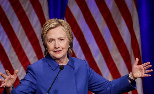 Defeated US Candidate Hillary Clinton Says: 'Fight For Our Values'