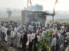 महाराष्ट्र के हिंगोली में एक महाराज ने ली अग्नि समाधि