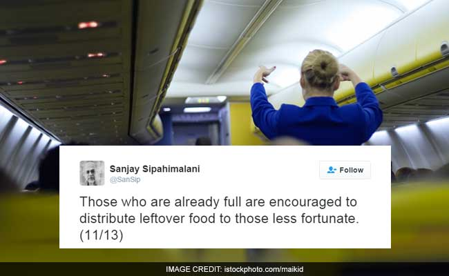 In-Flight Announcements Made Like Note Ban Updates Has Twitter LOL-ing