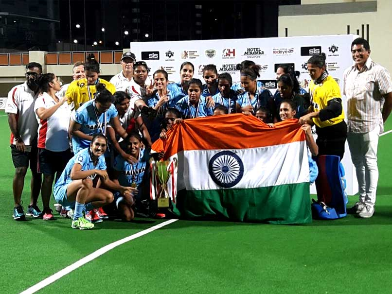 India Outclass China to Lift Women's Asian Champions Trophy Hockey Title