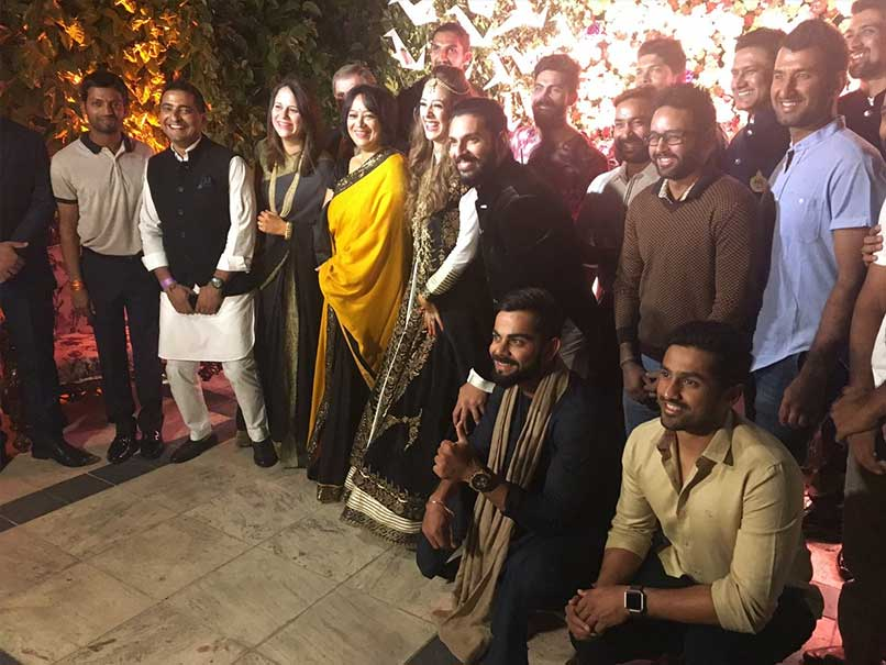 Virat Kohli And Co Celebrate Mohali Test Win at Yuvraj Singh's Sangeet Ceremony