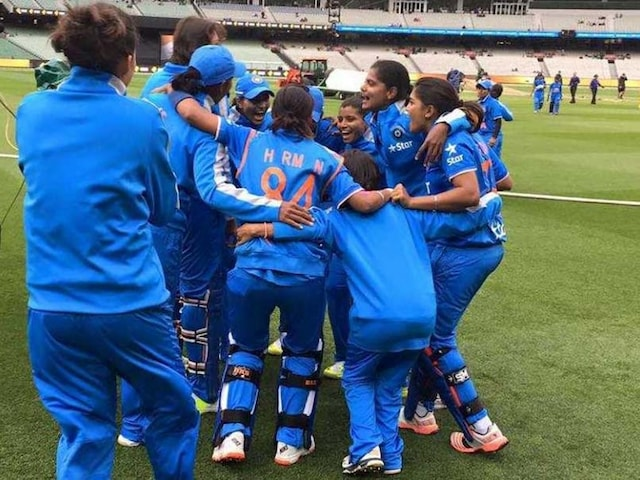 India Win ICC Womens World Cup Qualifier 2017 Final