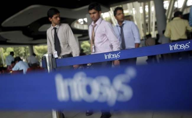 Infosys gains after increasing revenue growth guidance for FY 2018